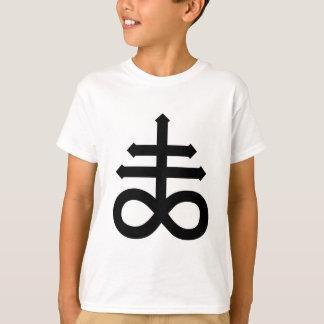 T-shirt Chemise croisée satanique