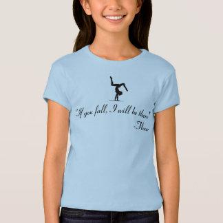 T-shirt Chemise croulante d'acro de cirque de yoga de