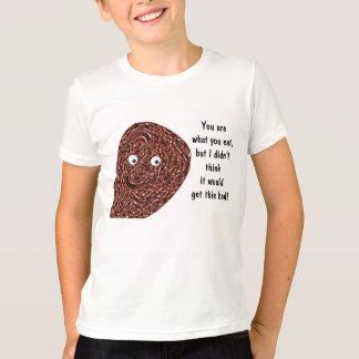 T-shirt Chemise d'accro du chocolat de puce de chocolat
