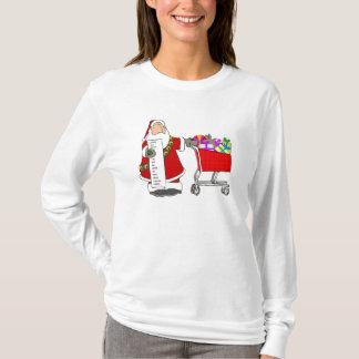 T-shirt chemise d'achats de famille de huber