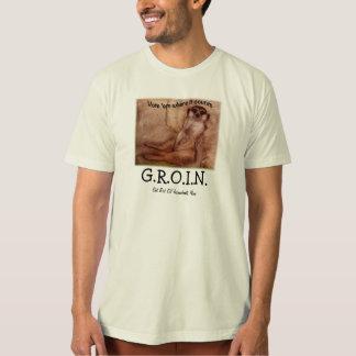 T-shirt Chemise d'AINE avec le chien de prairie