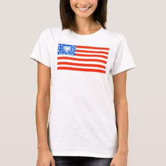 T-shirt Chemise d'Albanian/USA
