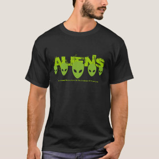 T-shirt Chemise d'aliens
