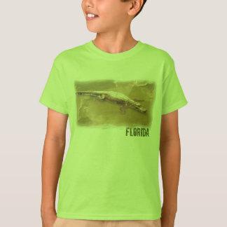 T-shirt Chemise d'alligator de la Floride de garçons
