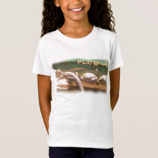 T-Shirt Chemise d'alligator de tortue de la Floride de