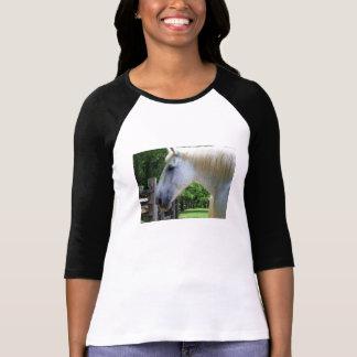T-shirt chemise d'amant de cheval