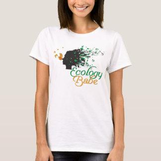 T-shirt Chemise d'amants de nature de bébé d'écologie