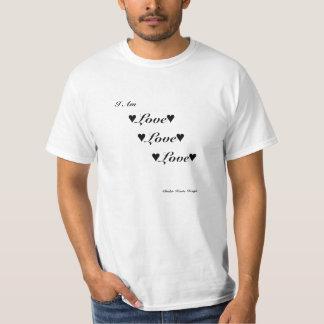T-shirt Chemise d'amour d'amour d'amour de méthode