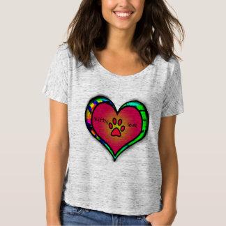 T-shirt Chemise d'amour de Kitty