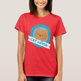 T-shirt Chemise d'amusement d'amoureux des chats