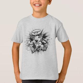 """T-shirt Chemise d'amusement de bull-terrier """"je suis"""