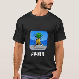 T-shirt chemise d'ananas d'évasion