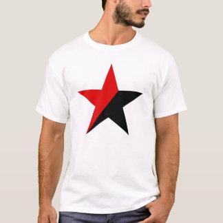 T-shirt Chemise d'anarchie d'étoile d'anarchiste