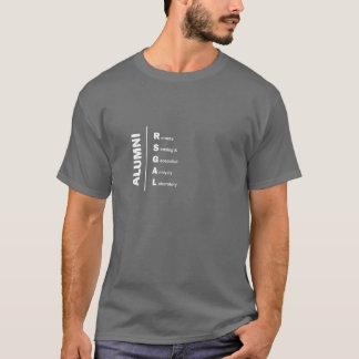 T-shirt Chemise d'anciennes élèves de type de RSGAL