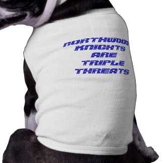 T-shirt Chemise d'animal familier