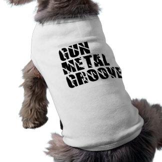 T-shirt Chemise d'animal familier de cannelure de bronze i