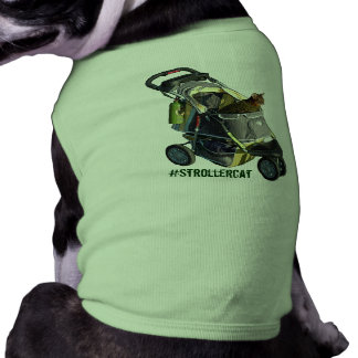 T-shirt Chemise d'animal familier de Strollercat
