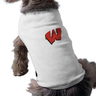 T-shirt Chemise d'animal familier de W