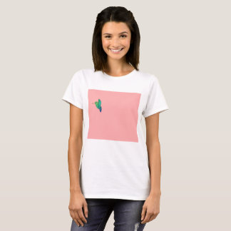 T-shirt Chemise d'animal familier d'oiseau de ronflement