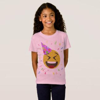 T-Shirt Chemise d'anniversaire d'Emoji - visage heureux