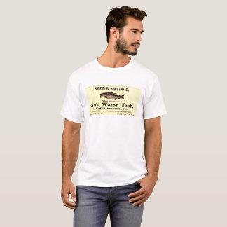 T-shirt Chemise d'annonce de Vintage Fishing Company