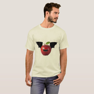 T-shirt Chemise d'Apple de batte