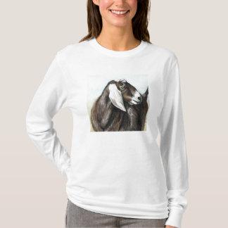 T-shirt Chemise d'art de chèvre de Nubian