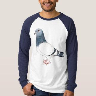 """T-shirt Chemise d'art d'oiseau de """"pigeon"""""""