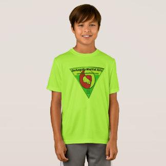T-Shirt Chemise d'arts martiaux de DeAngelis de garçons