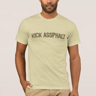 T-shirt Chemise d'Assphalt de coup-de-pied