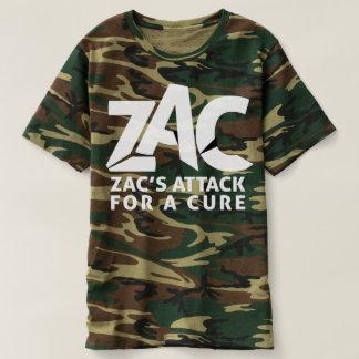 T-shirt Chemise d'attaque de Camo pour les hommes