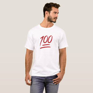 T-shirt Chemise de 100 Emoji (la meilleure)