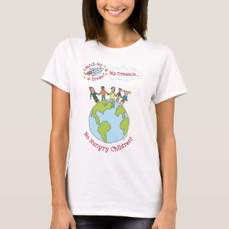"""T-shirt Chemise de """"aucuns enfants affamés"""" de Katie"""