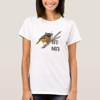 T-shirt Chemise de ballot de l'oiseau des femmes
