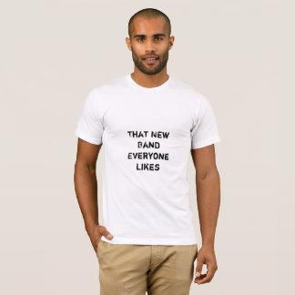 T-shirt Chemise de bande