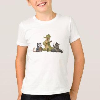 T-shirt Chemise de bande de cruche de bayou