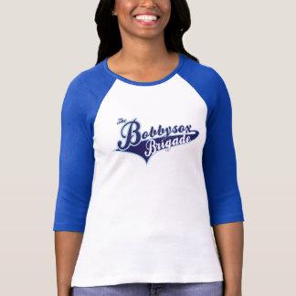 T-shirt Chemise de base-ball de brigade de marque de dames