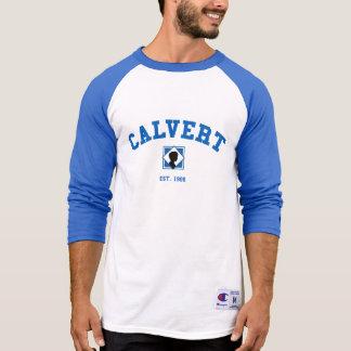 T-shirt Chemise de base-ball de Calvert