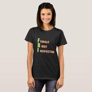 T-shirt Chemise de base de FBI