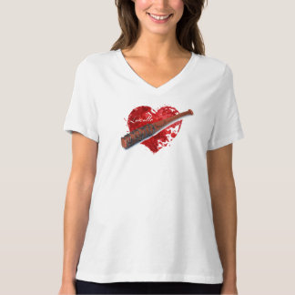 T-shirt Chemise de batte de Lucille des femmes