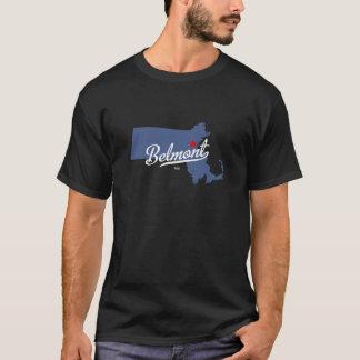 T-shirt Chemise de Belmont le Massachusetts mA