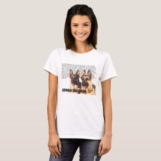 T-shirt Chemise de berger allemand