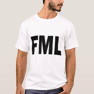 T-shirt Chemise de blanc de FML