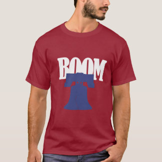 T-shirt Chemise de boom de base-ball de Philadelphie