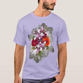 T-shirt Chemise de bouquet floral