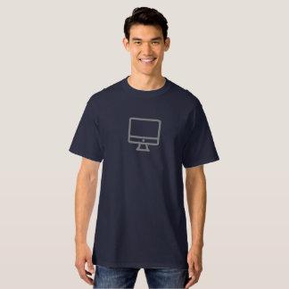 T-shirt Chemise de bureau simple d'icône