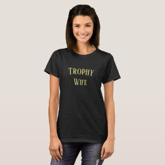 T-shirt Chemise de cadeau de Noël d'épouse de trophée