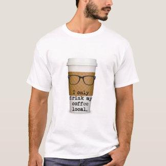 T-shirt Chemise de café de hippie