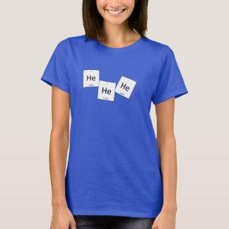 T-shirt Chemise de calembour d'élément de gaz hilarant