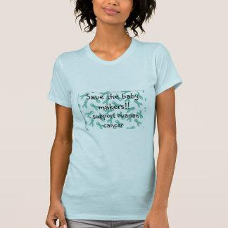 T-shirt chemise de cancer ovarien